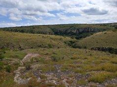 Landscape on the hike to Cañada de la Virgen