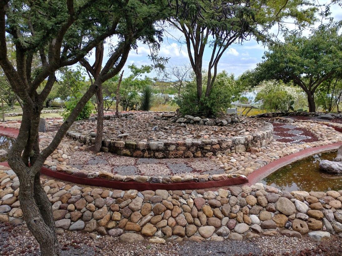 Garden at Cañada de la Virgen. Photo by Angela Grier
