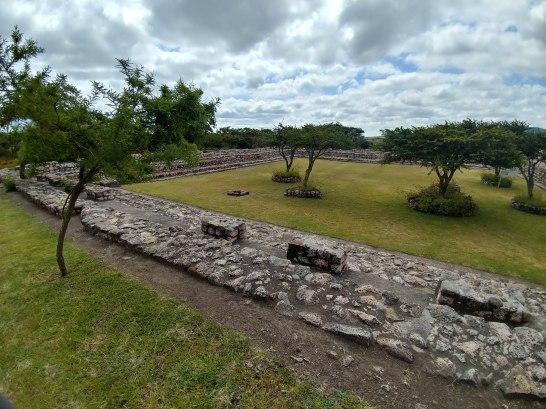 View of third structure at Cañada de la Virgen. Photo by Angela Grier