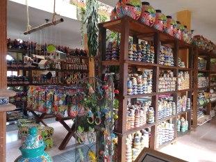 Pottery shop in Dolores Hidalgo