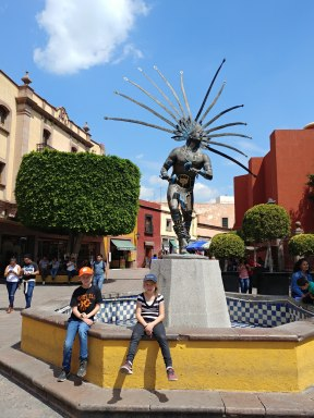Hot day in Querétaro. Photo by Angela Grier