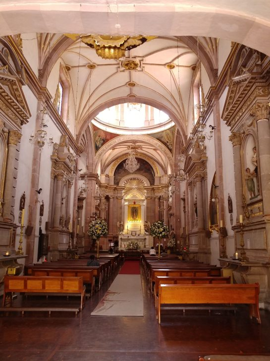 Cathedral in Querétaro. Photo by Angela Grier