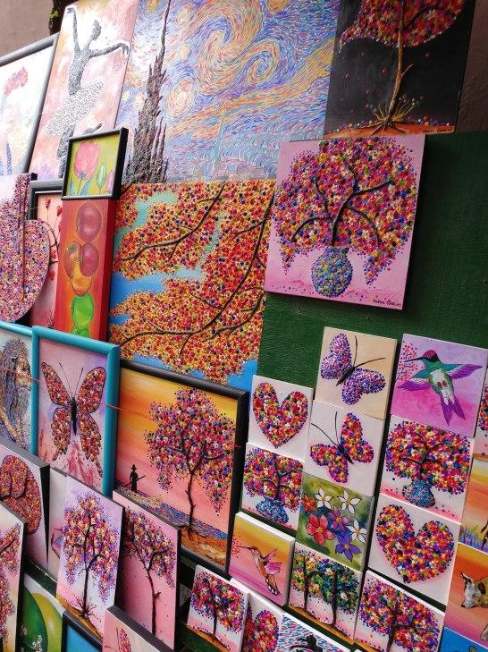 Artwork in Querétaro. Photo by Angela Grier