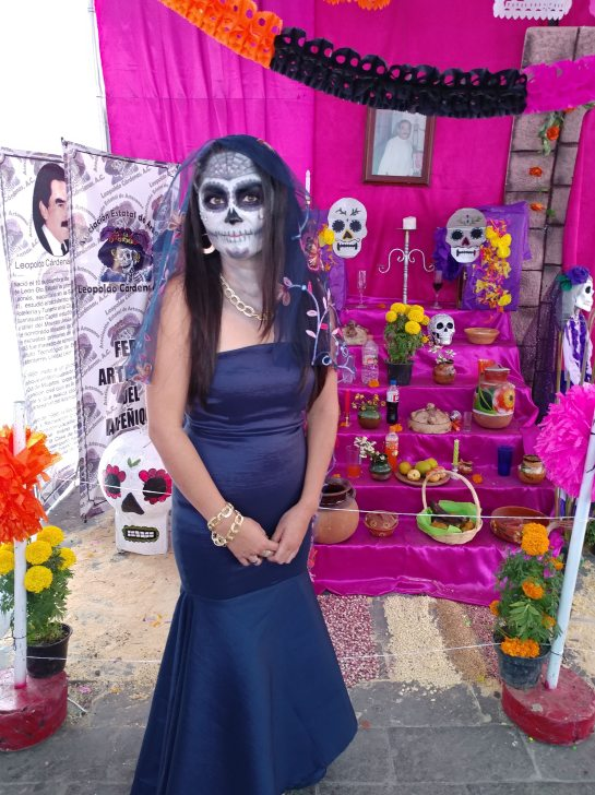 My favorite catrina. Photo by Angela Grier