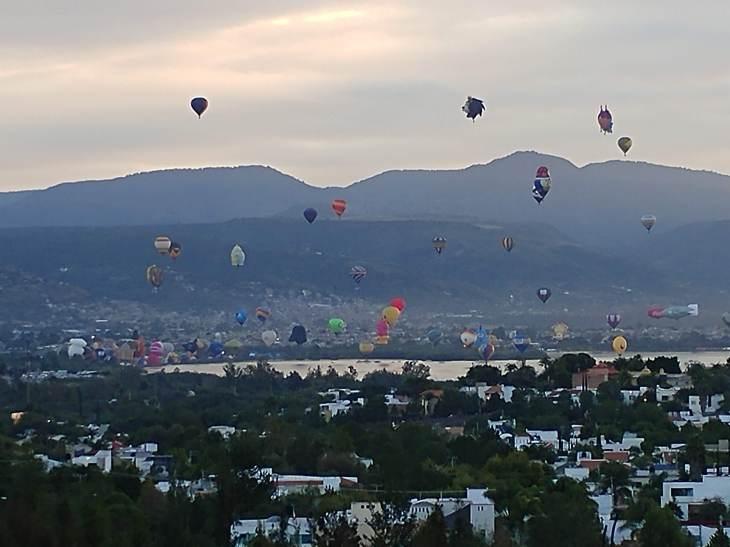 Festival del Globo, Leon, Guanajuato. Photo by Angela Grier