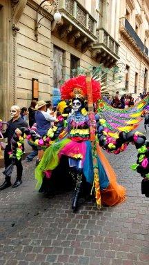 Dia de los Muertos Parade in Guanajuato. Photo by F. Bravo