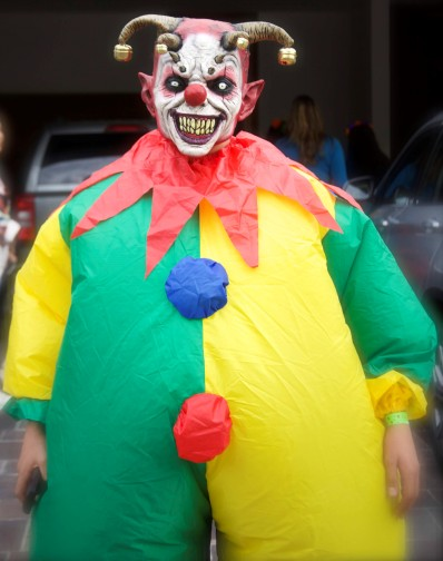 Halloween costumes. Photo by F. Bravo