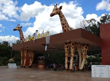 Entrance to Leon Zoo