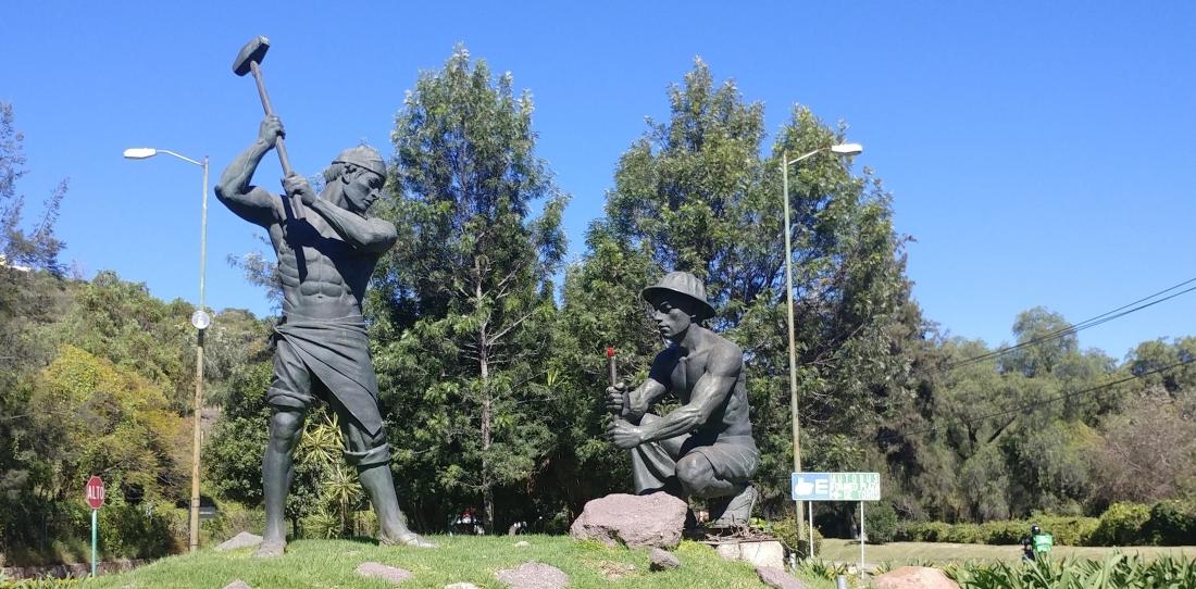 Miner statue, City of Guanajuato