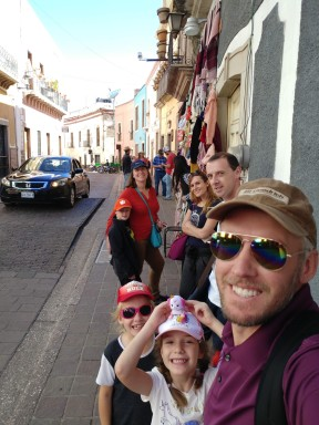 Walking through the City of Guanajuato. Photo by Angela Grier