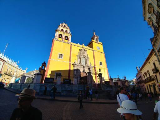 Guanajuato Cathedral, City of Guanajuato. Photo by Angela Grier