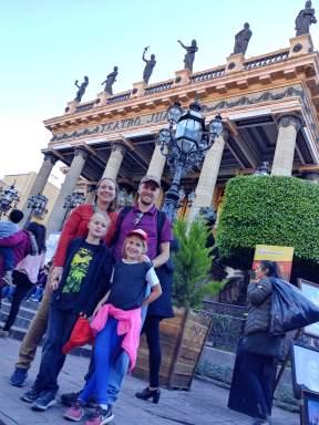 Teatro Juarez, City of Guanajuato. Photo by Angela Grier