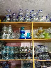A glass shop. Photo by Angela Grier