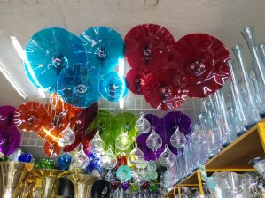 Another glass vendor. Photo by Angela Grier