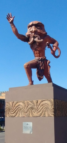 Tonala sculpture. Photo by Angela Grier
