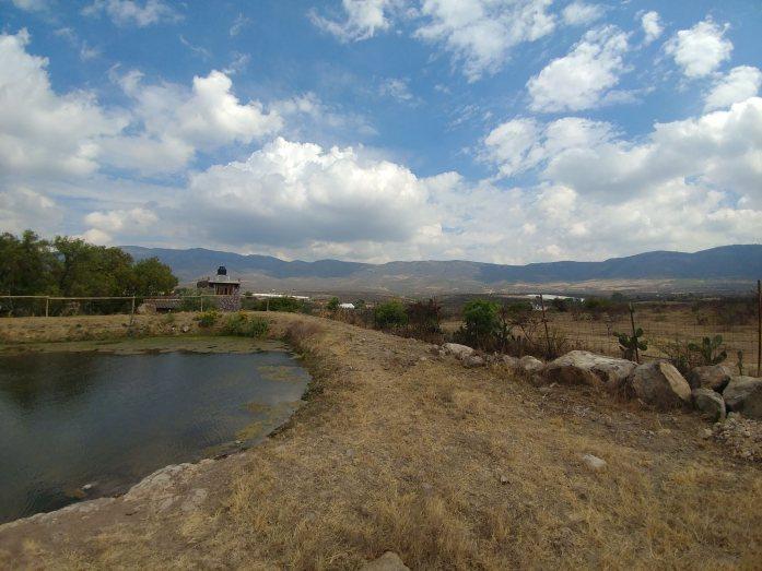 Farm at Peña de la Bufa. Photo by Angela Grier