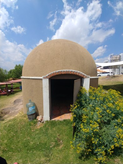 Temazcal - a steam room. Photo by Angela Grier