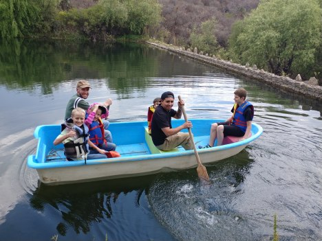 Boating at Echological. Photo by Angela Grier