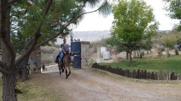 Horseback riding at Echological. Photo by Grier